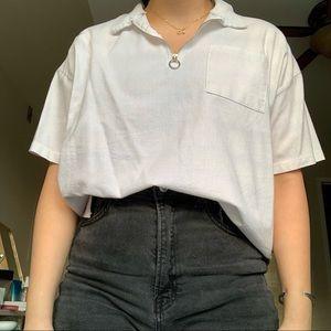 Quarter Zip Tshirt